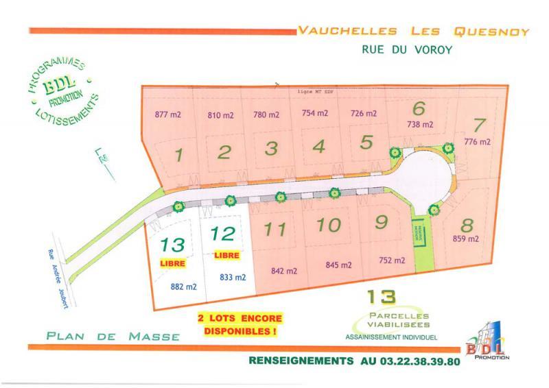 13 terrains constructibles à Vauchelles-les-Quesnoy (80)