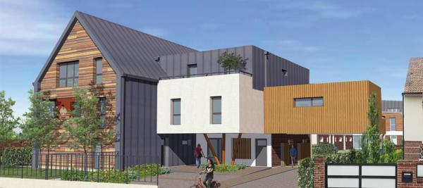 Le Hameau St-Fuscien - 49 Appartements neufs à Amiens