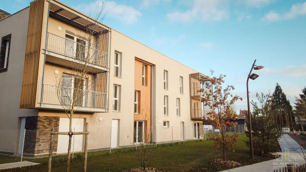 L'Echappée Verte _ 42 appartements neufs Amiens Sud (80)