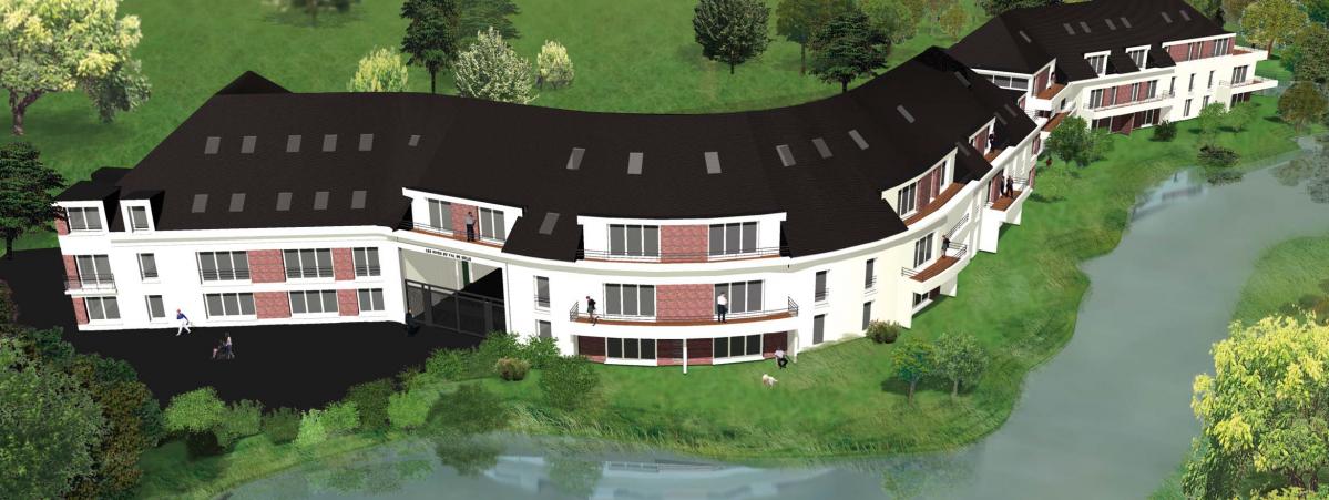 Résidence de standing à Pont-de-Metz : 72 appartements neufs