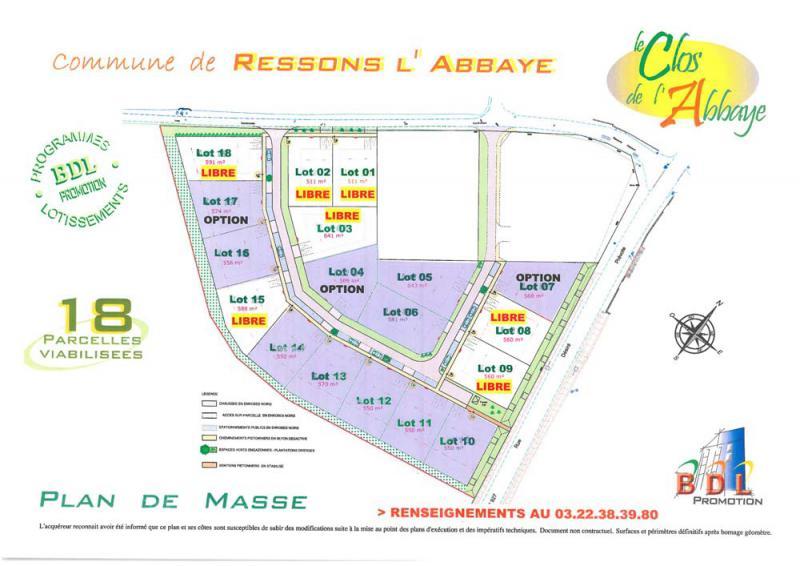 Lotissement le Clos de l'Abbaye à Ressons-l'Abbaye (60)
