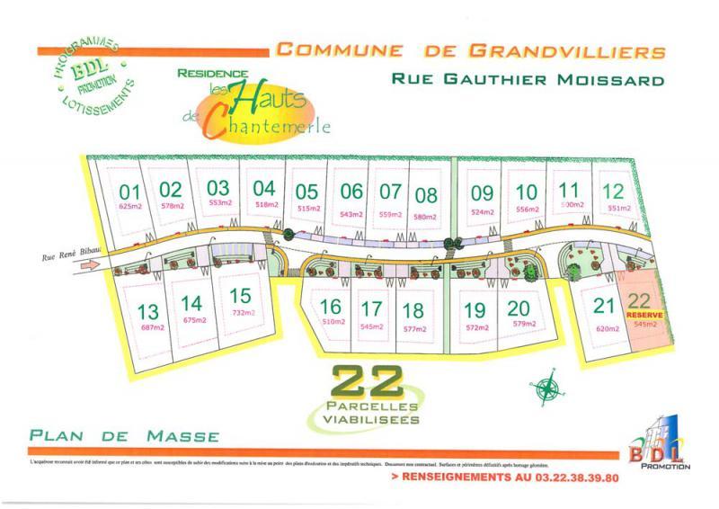 Lotissement les Hauts de Chantemerle à Grandvilliers 60