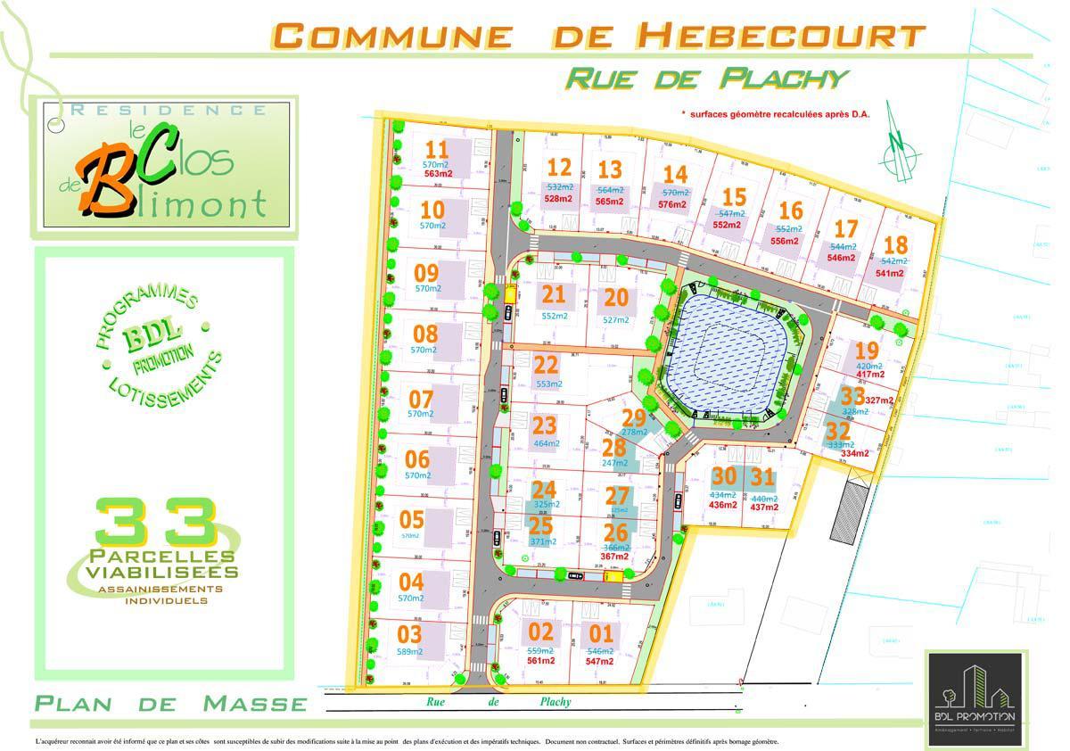 Lotissement Résidence le Clos de Blimont à Hébécourt (80)