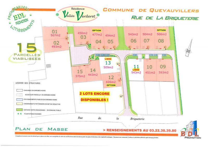 Lotissement résidence Vallée Verderet à Quevauvillers (80)