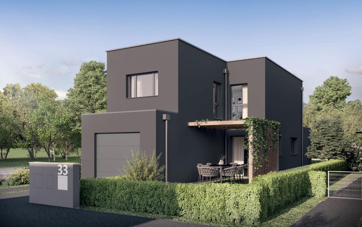 Modèle de maison d'architecte Albizia à Amiens