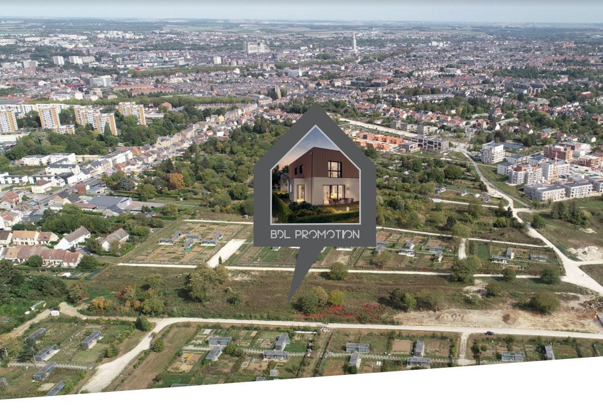 Votre maison neuve implantée au coeur d'un écoquartier à Amiens