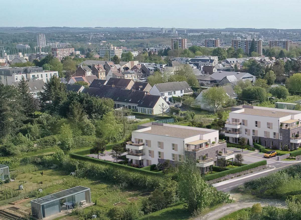 Appartement neufs à Amiens Sud - L'Orée des Jardins