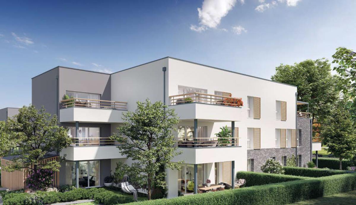 L'Orée des Jardins - Appartements neufs à Amiens Sud