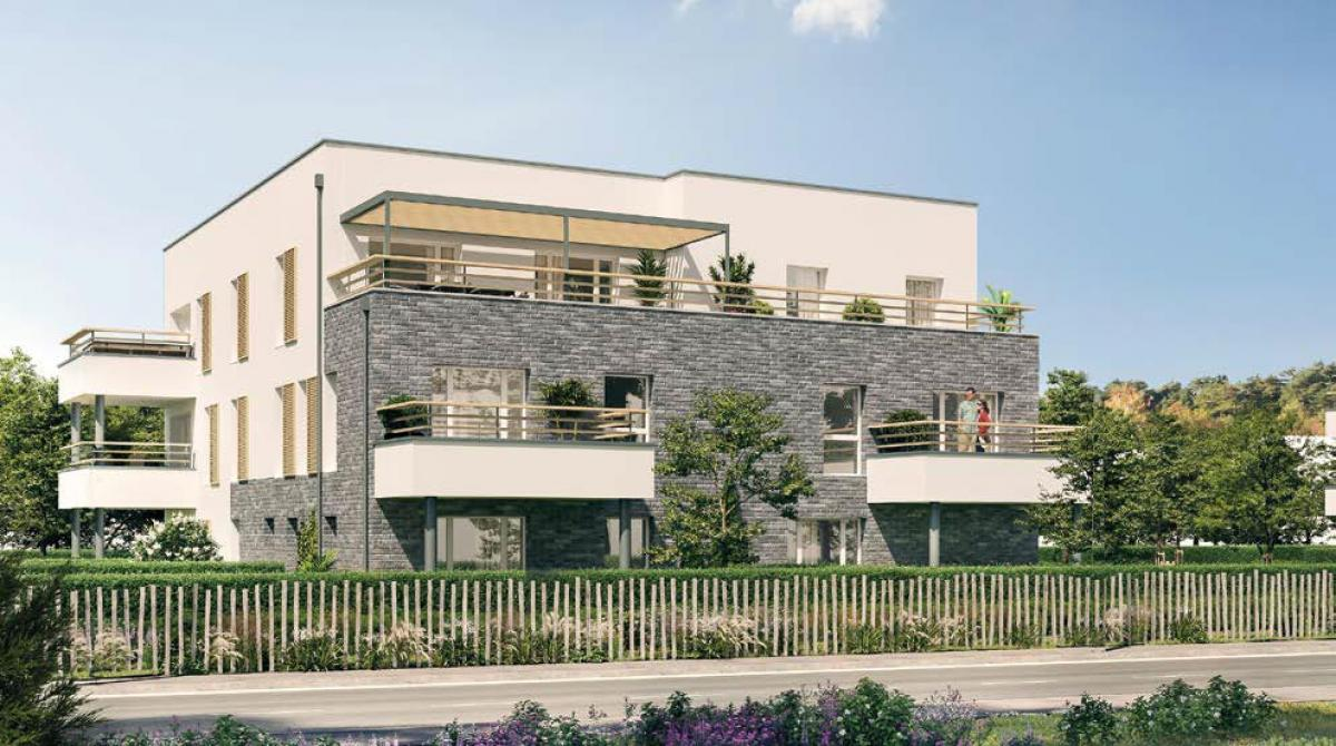 L'Orée des Jardins - Appartements neufs à Amiens Sud - bâtiments