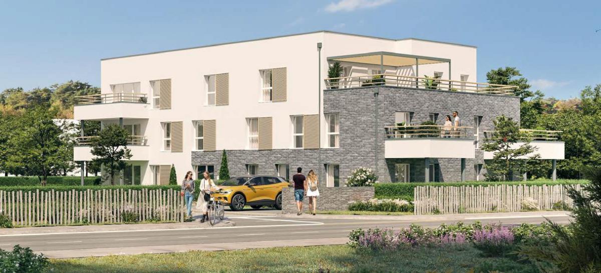 L'Orée des Jardins - Appartements neufs à Amiens Sud - résidence de prestige